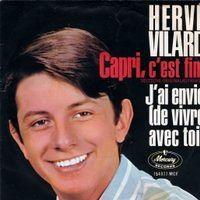 Cover Hervé Vilard - Capri c'est fini [deutsch]
